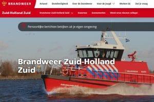 Brandweer zhz website