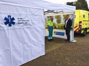 GGB tent ambulancedienst ZHZ