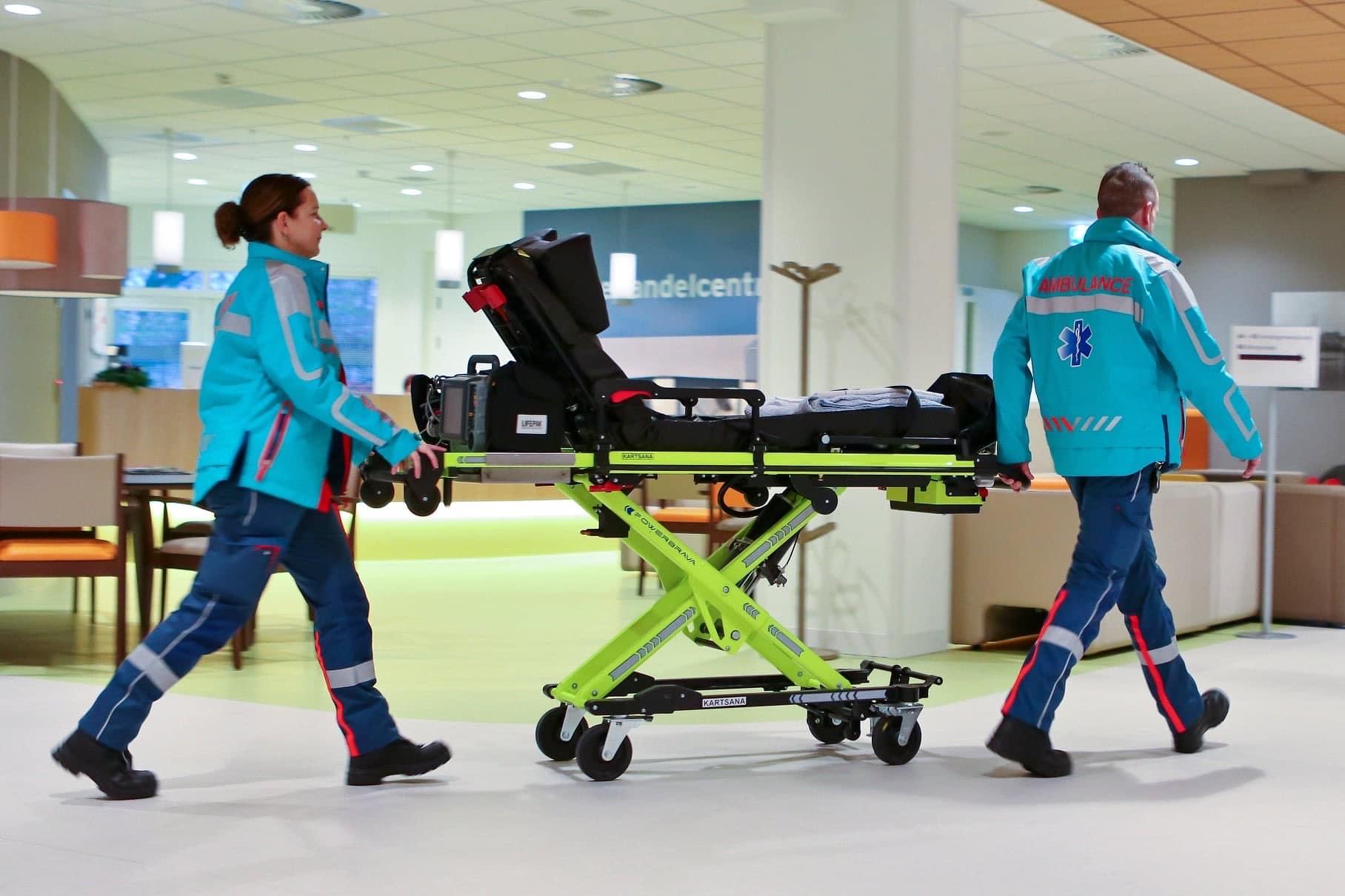 Respect voor ambulancebemanning
